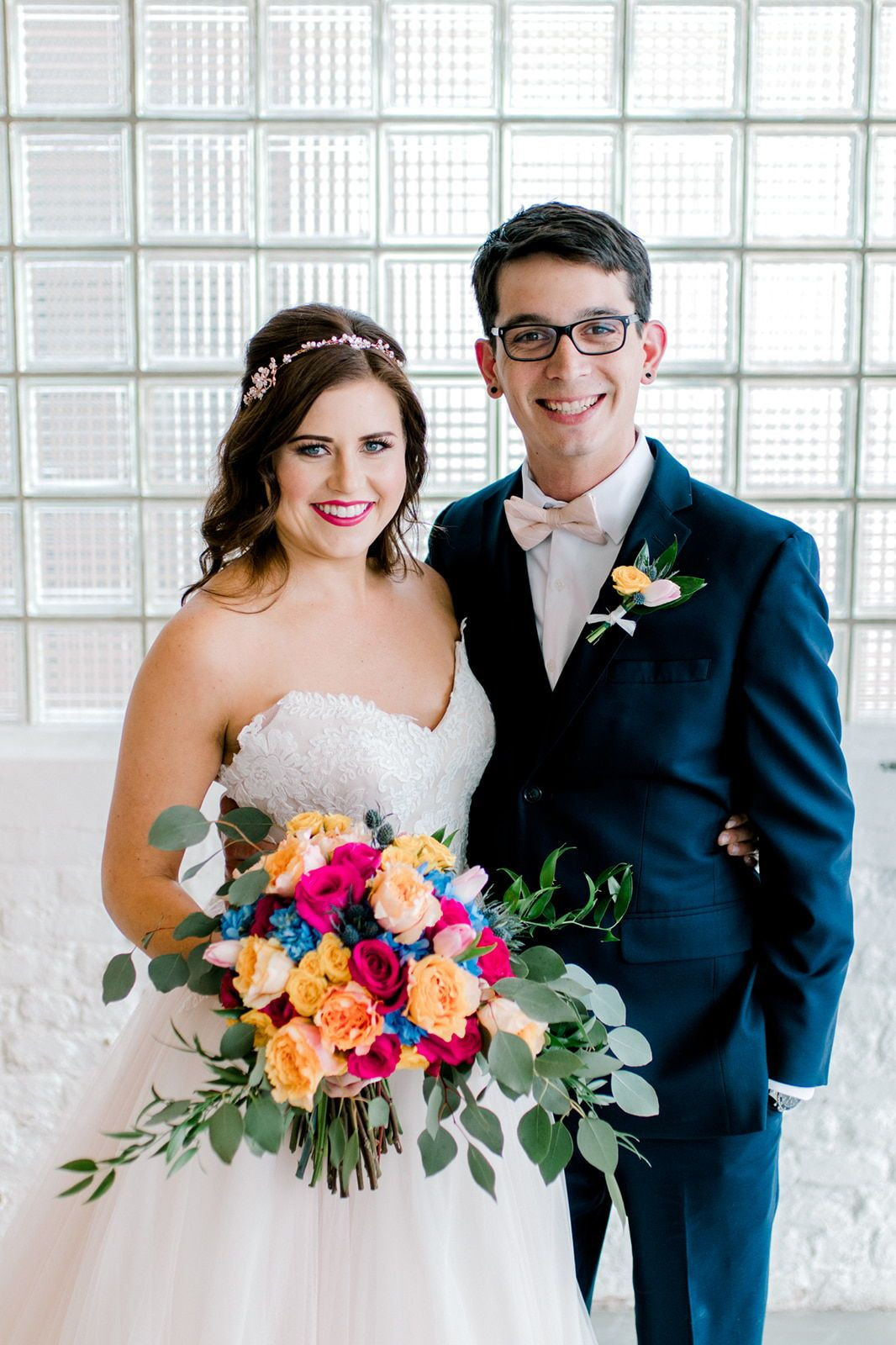 bright and trendy wedding makeup and hair by chicago makeup