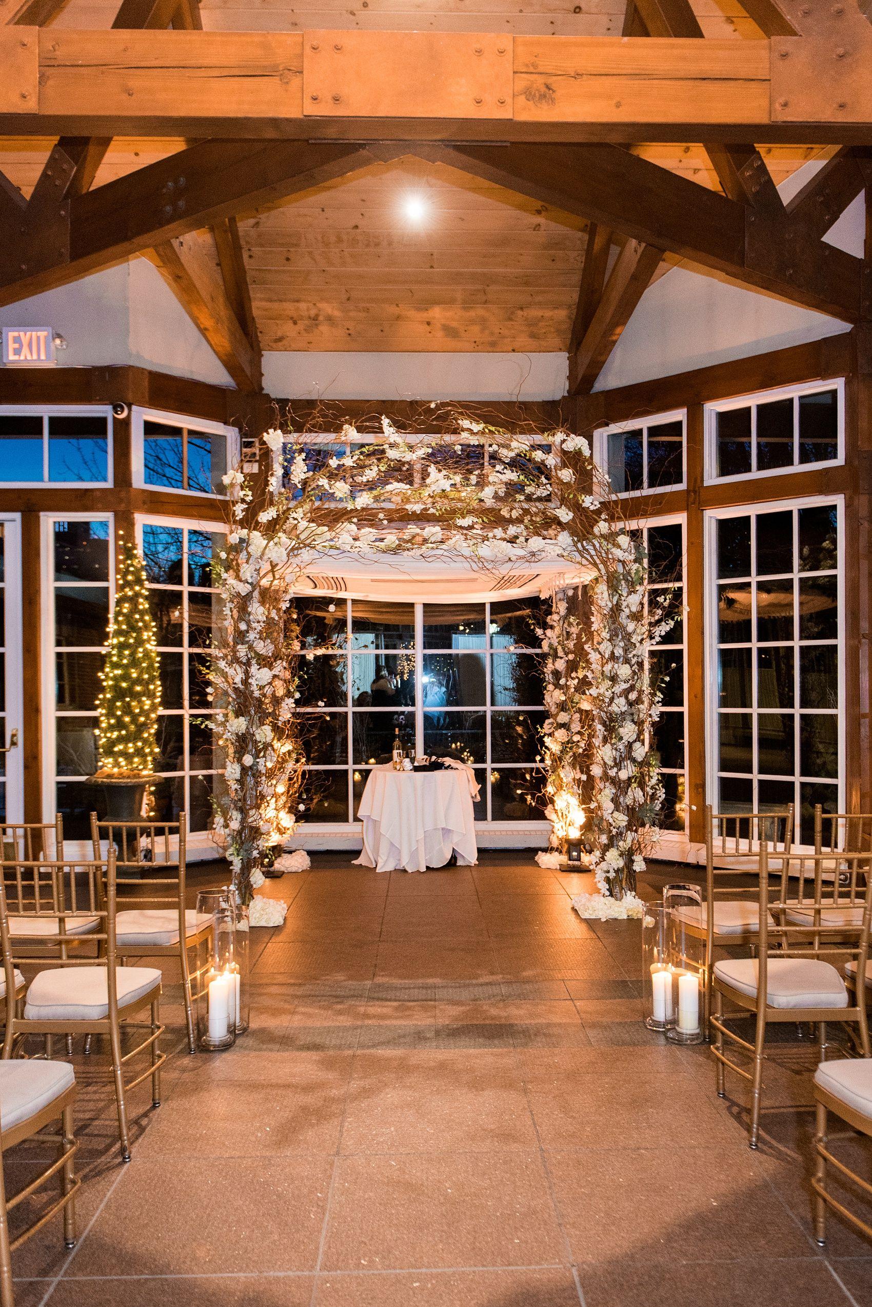 Central Park Loeb Boathouse Winter Wedding Photos Felicia