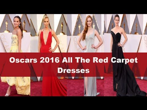 Oscars 2016 All The Red Carpet Dresses