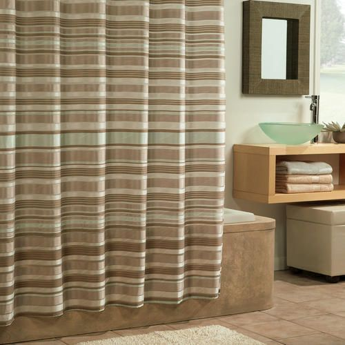 Excell Glacier Shower Curtain At Menards Fabric Shower Curtains