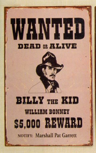Billy The Kid Billy The Kids Old West Outlaws Wild West Outlaws