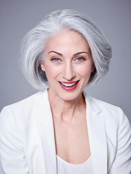 Beroemd Speciaal voor dames met natuurlijk grijs haar! - Kapsels voor haar @NF09