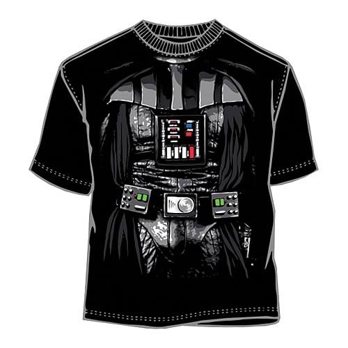 Star Wars Darth Vader Costume T-Shirt Cool T-Shirts Pinterest - mens halloween ideas