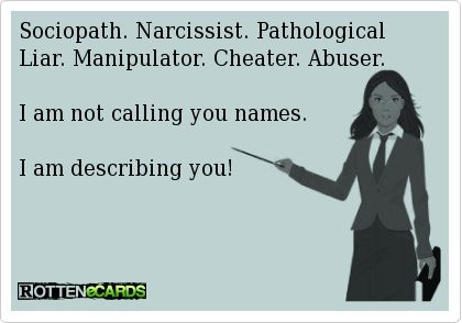 what happens when a narcissist gets caught cheating