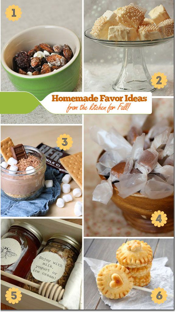 Head Off To The Kitchen Homemade Favor Ideas Wedding 3