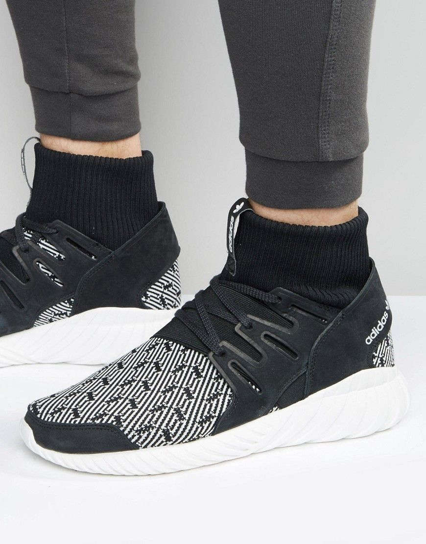 3b832d1c469c7 adidas Originals Tubular Doom Sneakers In Black S80096 - Black ...