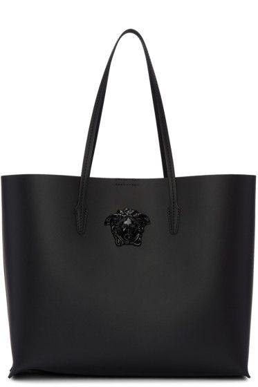 8e11435cc6 Versace - Black Palazzo Shopper Tote | Purse Envy in 2019 | Versace ...