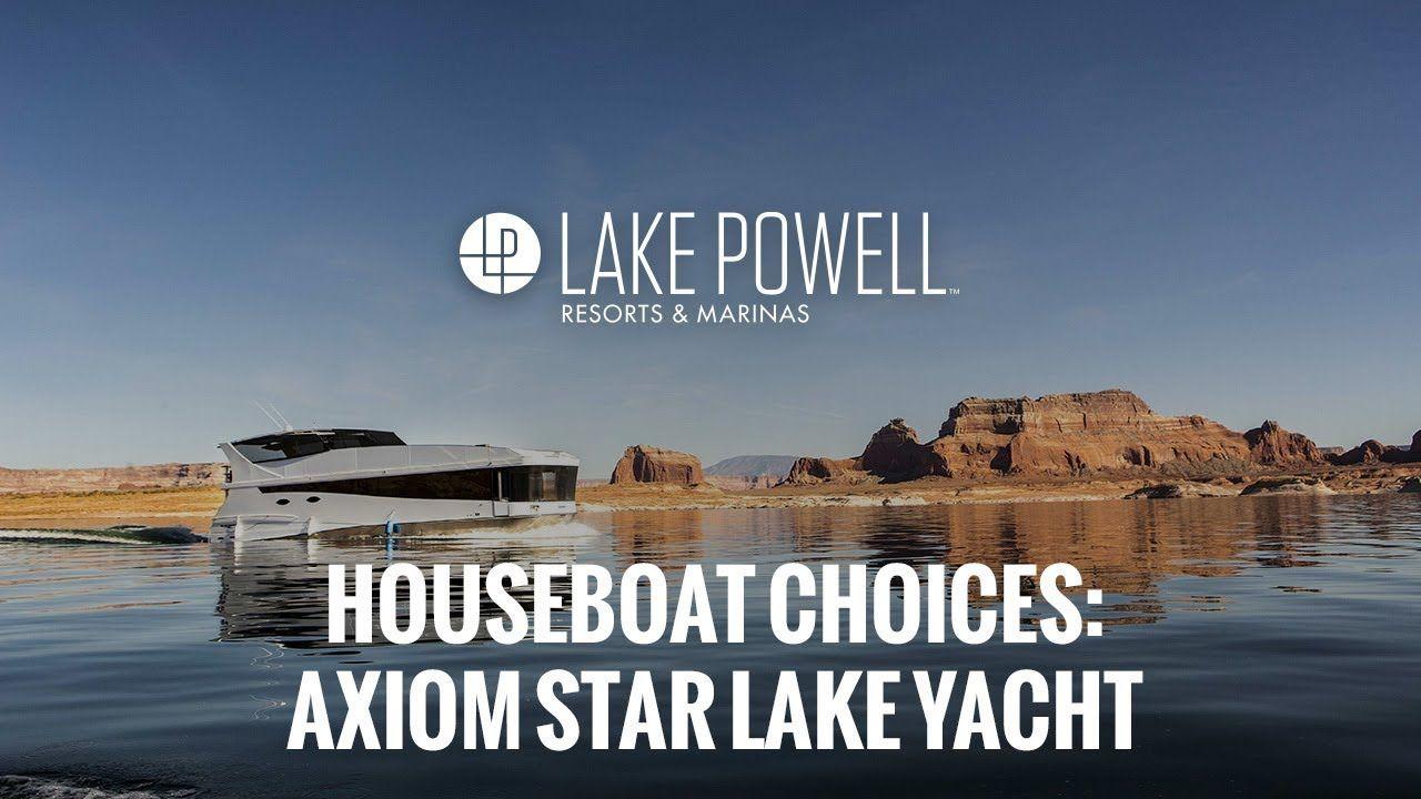 Axiom star luxury houseboat rental lake powell resorts