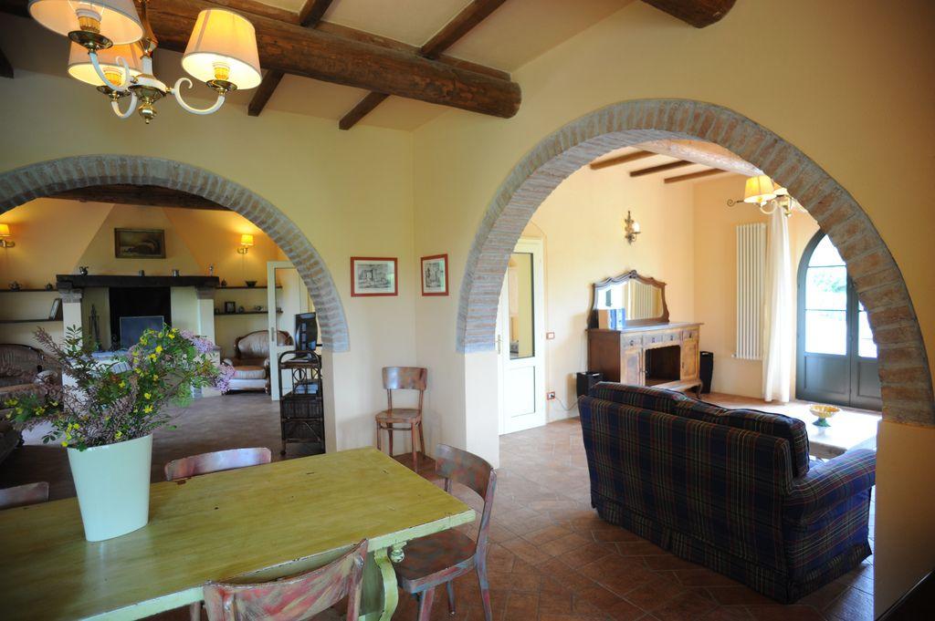 Casas italianas el estilo toscano evoca la campi a - Casas estilo rustico ...