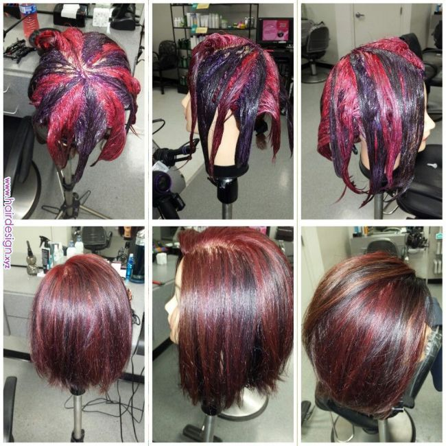 Pinwheel Color Technique Done By Vanessa Delmont Smartstyle Matrixcolor Hairstyles Pinterest Hair Color Hair Color Techniques Hair Styles Hair Color