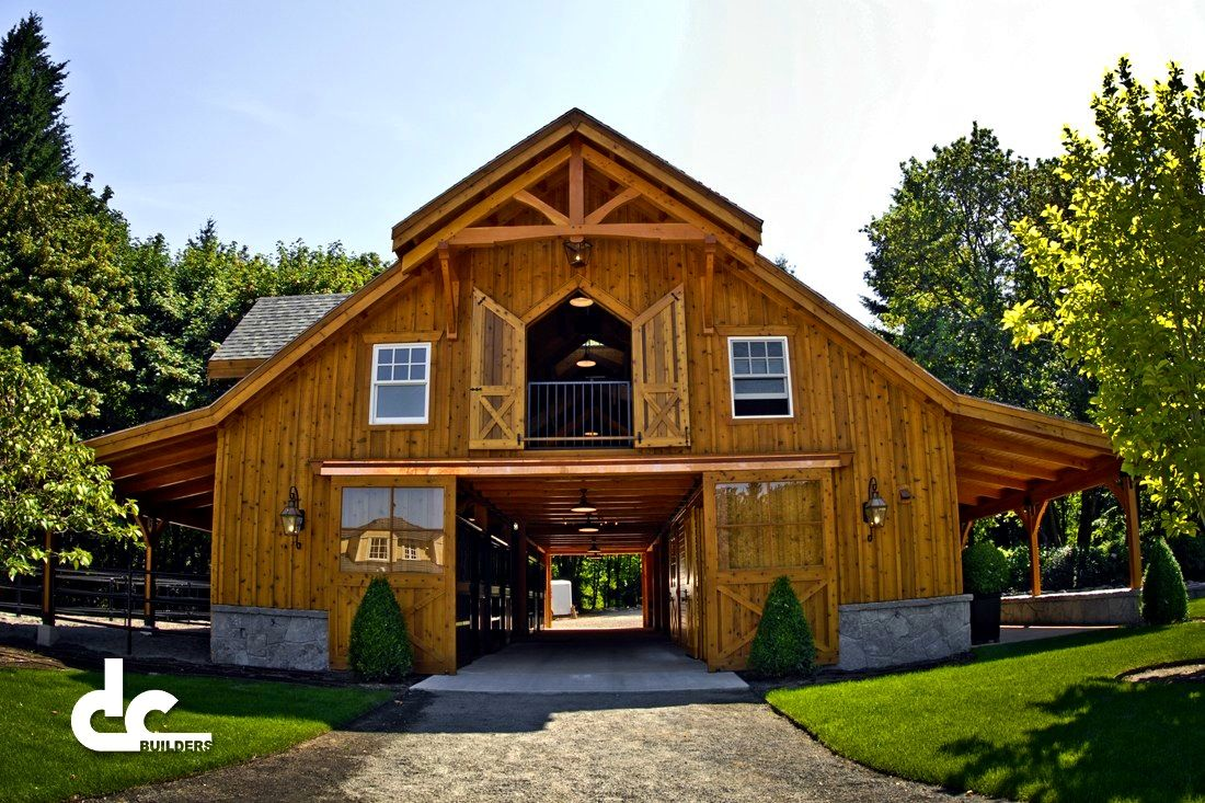 Apartments mesmerizing barn designs living quarters pole for Pole barn garage designs