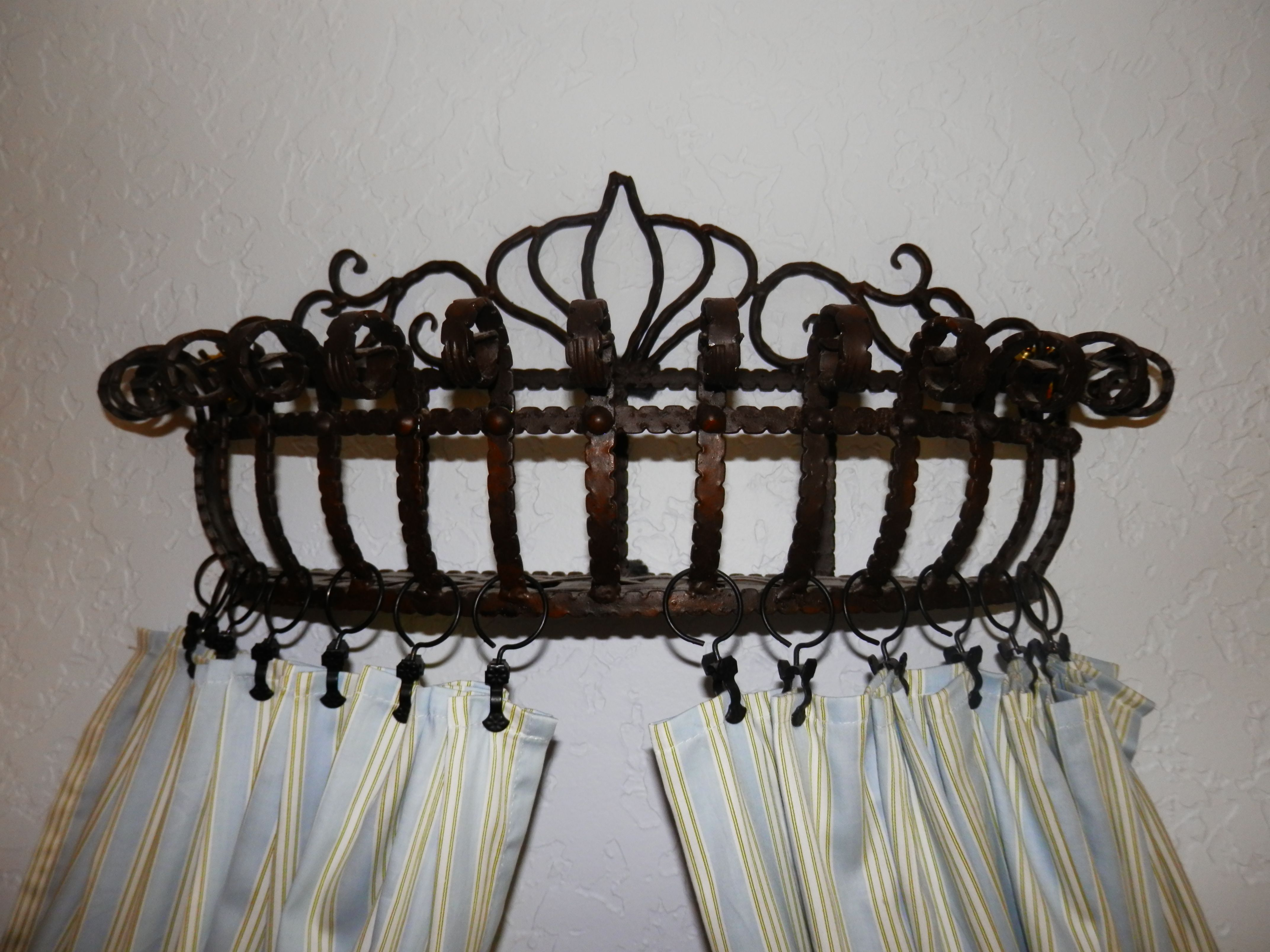 DIY Crown Canopy inspired by Horchow...i found a flower ...