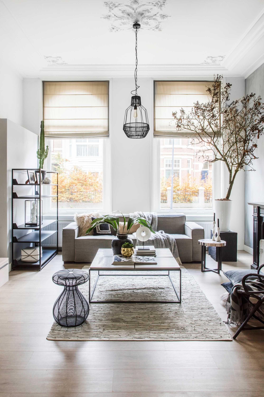 Klaas Hogeweg is altijd bezig met het mooier maken van interieurs ...