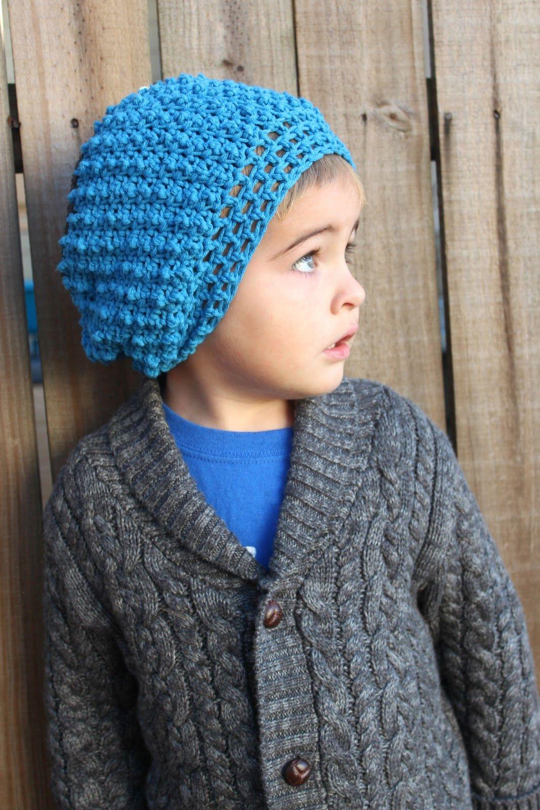 Love City  crochet love  toddler hipster slouchy beanie   0b5190460a7