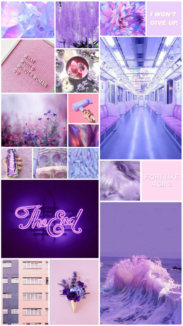 Egirl Aesthetic Wallpaper Collage 3d Wallpapers Purple Aesthetic Background Aesthetic Iphone Wallpaper Purple Aesthetic