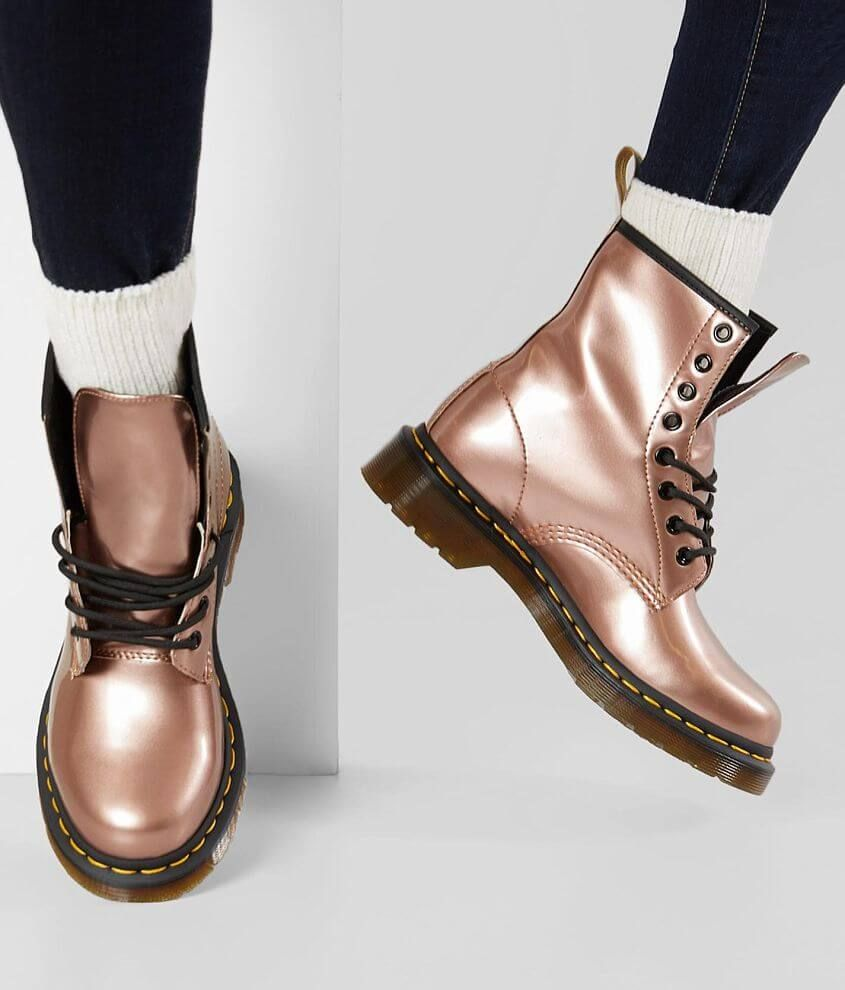 Dr. Martens Vegan Leather 1460 Boot Women's in 2019 | Rose