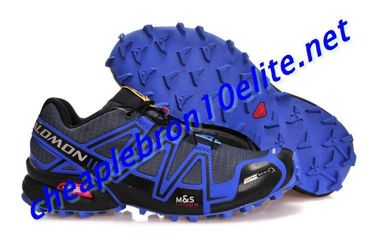 Dark Grey Salomon Speedcross 3 CS Mens Royal Blue