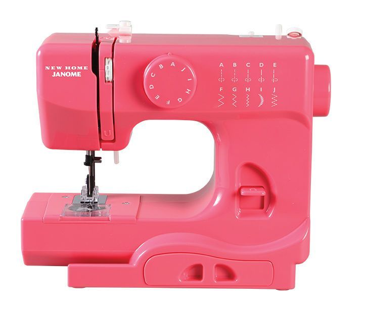 Janome Derby Portable Sewing Machine - Pink Lightning
