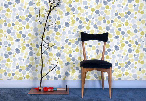 Awesome Wallpaper Art Textile Tres Tintas for sale AT NUBA