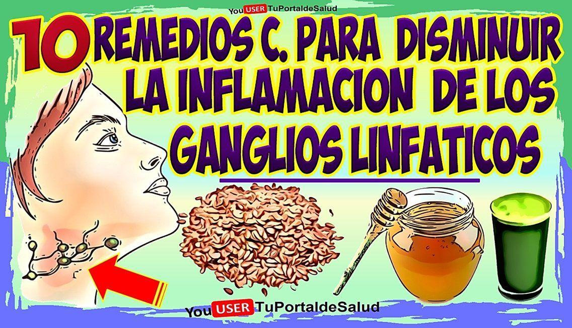 inflamación delos ganglios inguinales