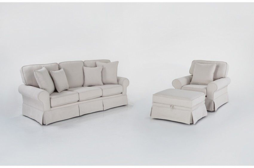 Best Katie 80 Sofa Chair With Storage Ottoman Living Room 400 x 300