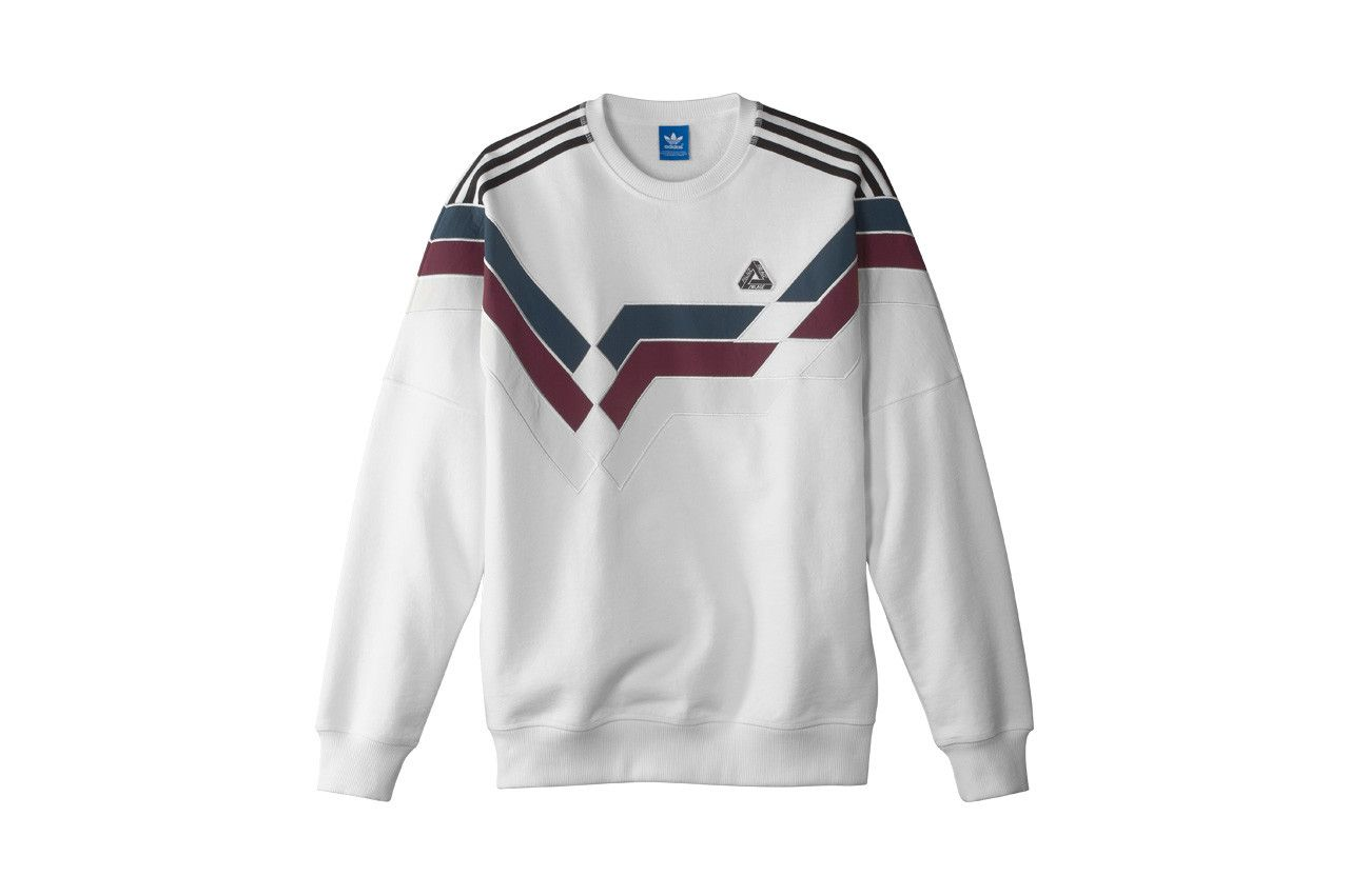 Palace / Adidas Originals Stripe Crew White