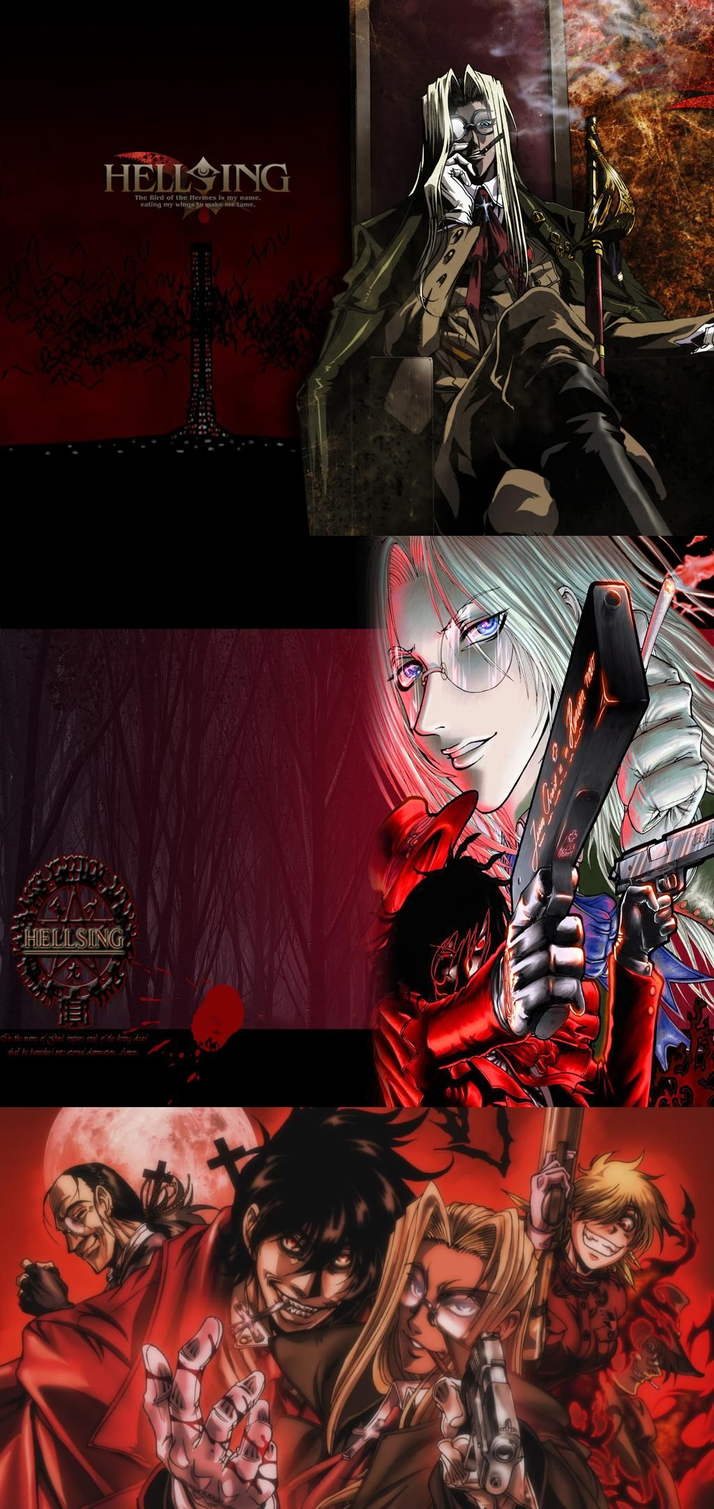 Hellsing Ultimate X | Anime, VampirosHellsing Ultimate Characters