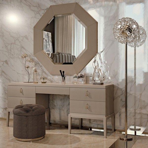 edle inneneinrichtung schminktische deko ideen #Design #dekor - küche dekorieren ideen