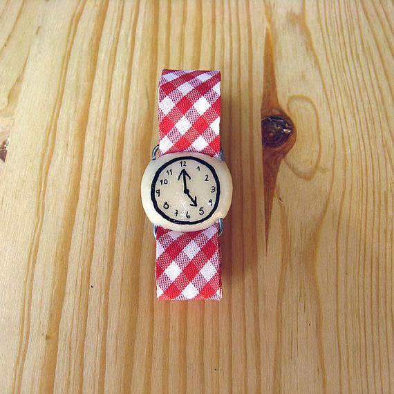 Cutest fake watch ever @MisakoMimoko eva