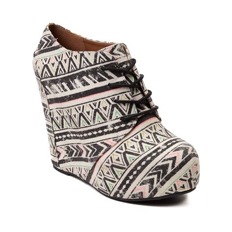 42624a483273 Shop for Womens SHI by Journeys Laceup Wedge in Multi at Journeys Shoes.