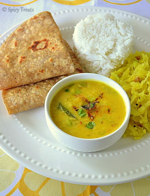 Moongdal curry / Dal Tadka / Dal Fry