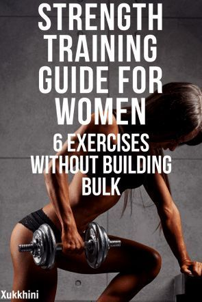 strength training for women 6 best exercises without