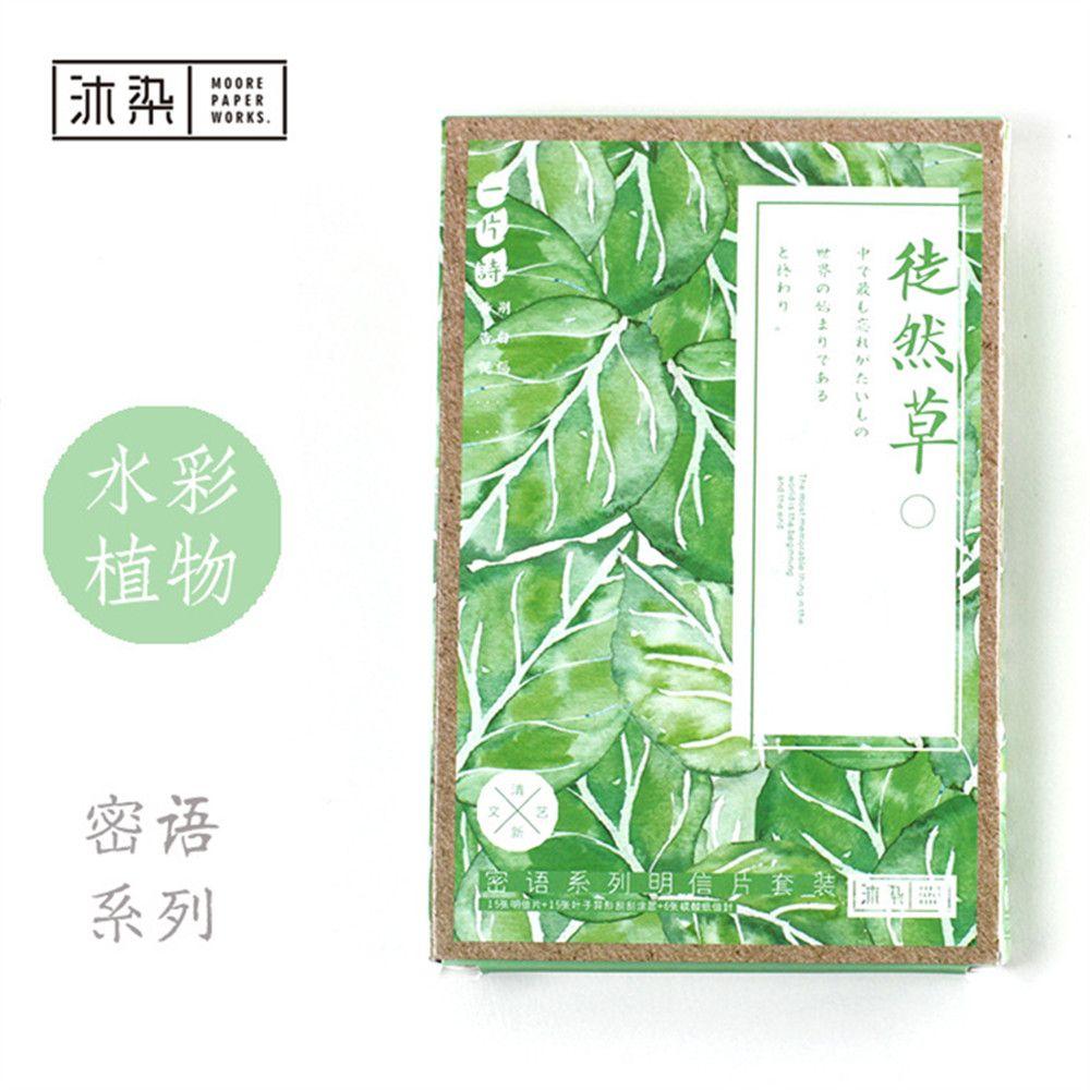 Fashion Scratch Card Message Card 15pcs Postcards6 Envelops