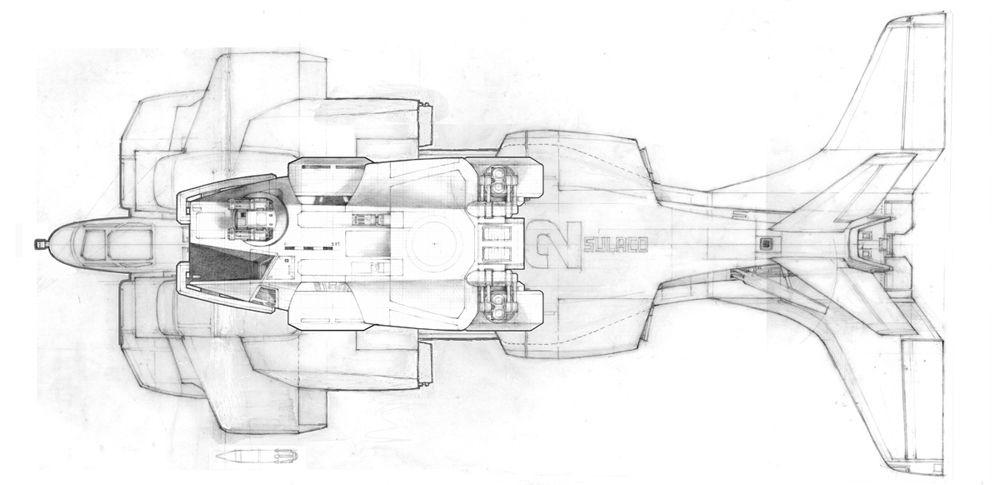 space transport schematic