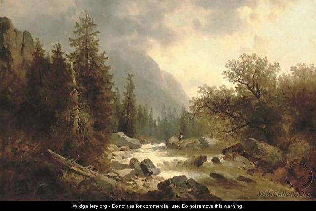 78 best ART: Alpine images on Pinterest | Landscape art, Landscape ...