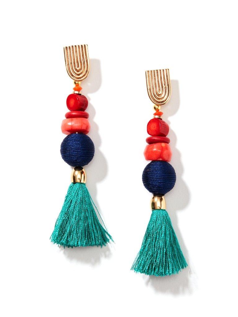 Fashion week Wear you Would Tassel earrings? for woman