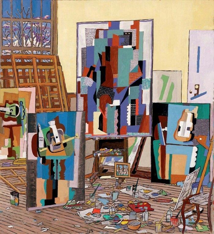 Picasso'studio Rue Schoelcher Paris  Damian Elwes, 1960 | Conceptual painter Per più informazioni leggi qui:http://www.tuttartpitturasculturapoesiamusica.com/2012/07/damian-elwes-1960-british-painter.html?m=1 © Tutt'Art@ | Pittura * Scultura * Poesia * Musica |