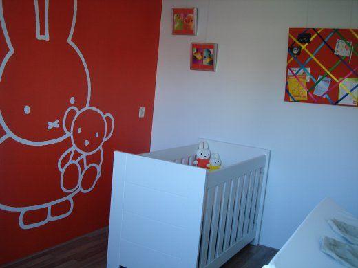 Babykamers op babybytes onze gekleurde nijntje kamer willem s