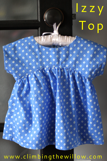 Climbing the Willow: izzy top - free pattern and tutorial | Sewing ...