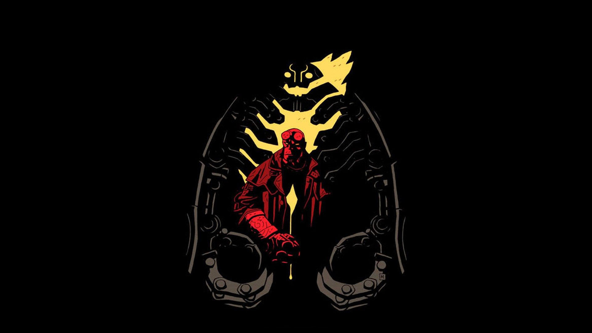 free puter wallpaper for hellboy