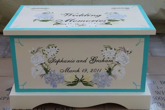 Wedding Keepsake Chest Memory Box By Staciedale On Etsy 255 00