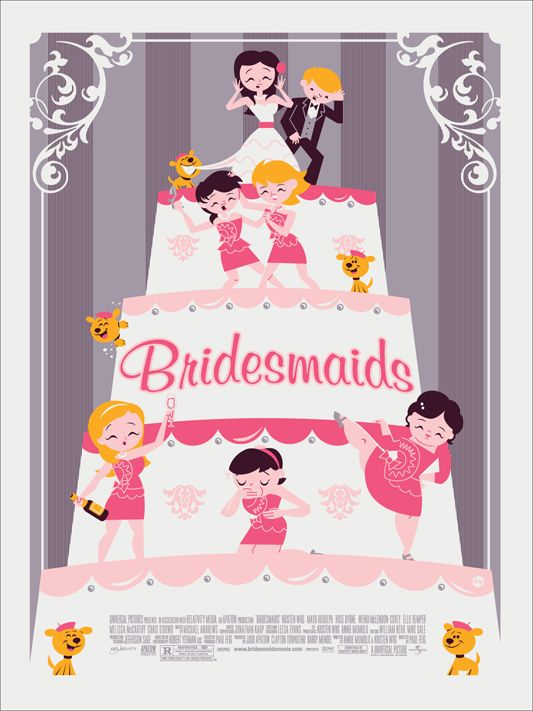 Mondo Bridesmaids print, so awesome! So putting this in my