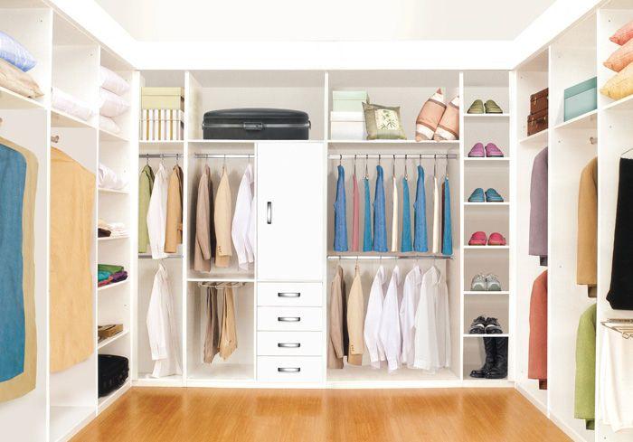 Dise o vestidores modernos armarios empotrados 2017 - Armarios empotrados diseno ...