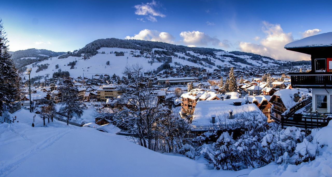 Megève. France -- wish I was snowed in snuggly as a bug in a rug (LOL)