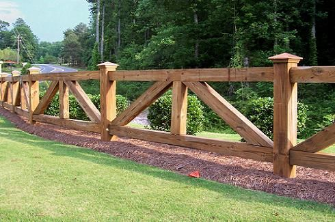 Ranch Style Fencing We Offer Various Styles And Types Of Depending On Your