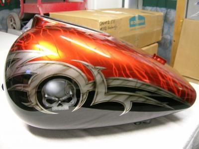 Custom Motorcycle Paint Shops In Mn