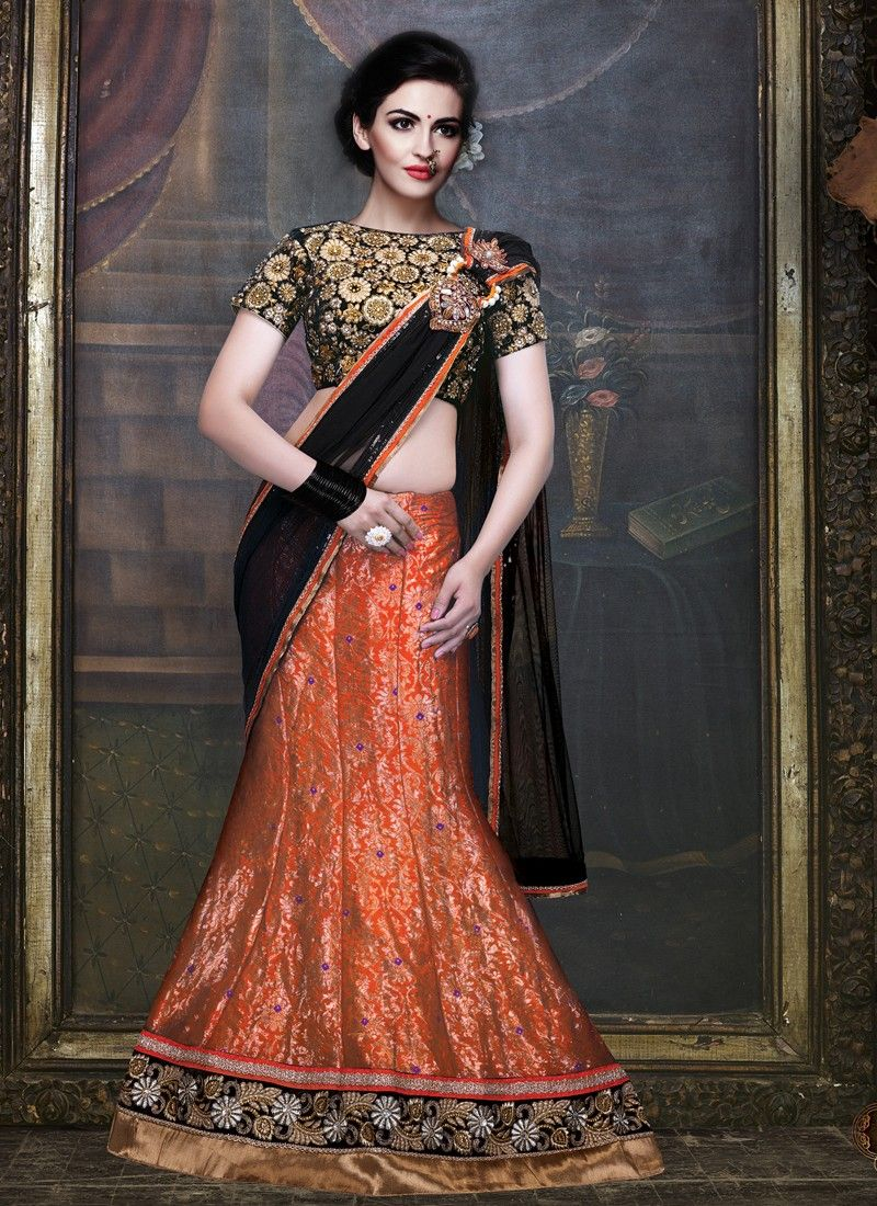 latest half sarees models - Google Search