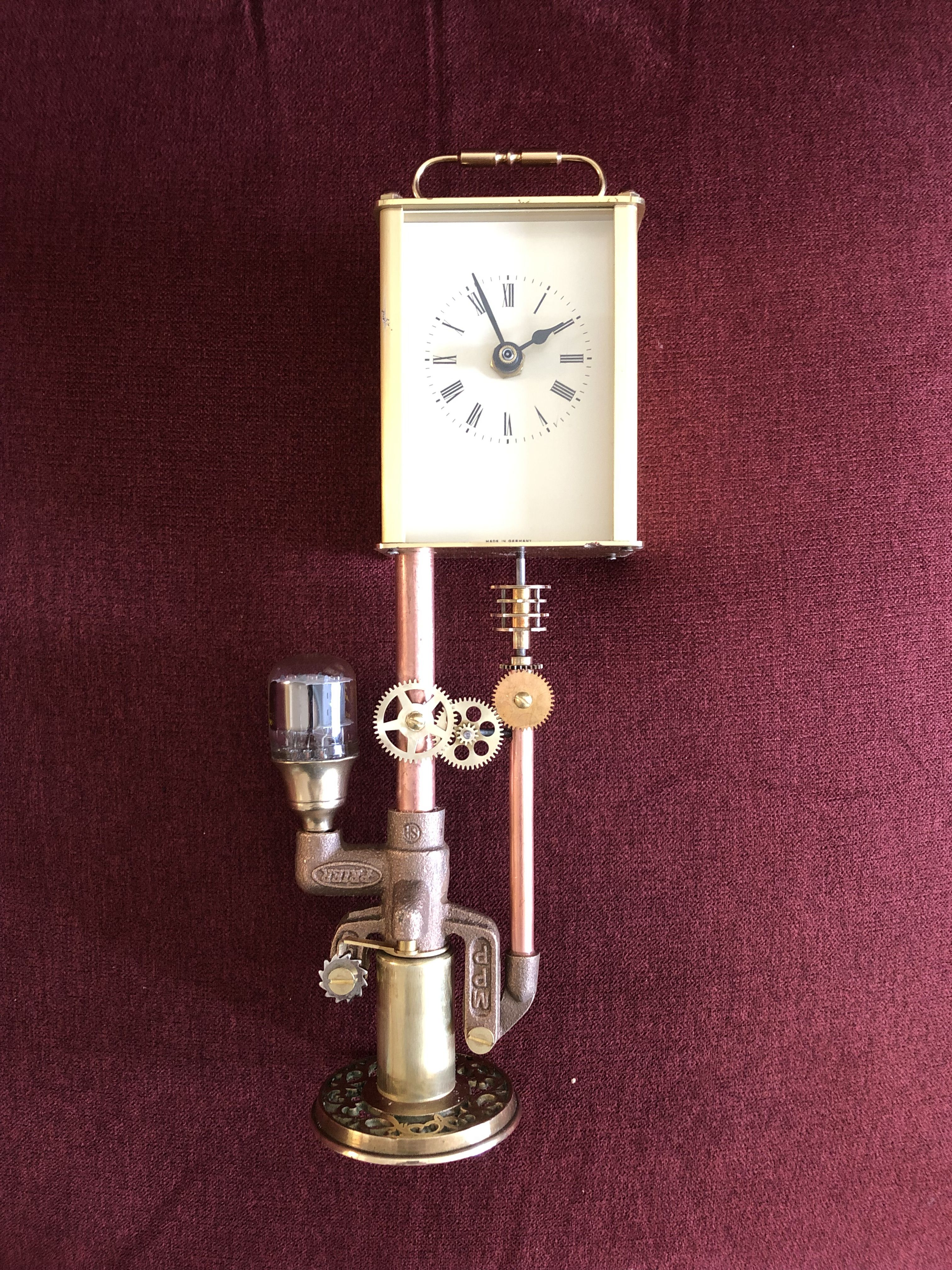 One Of My Husband S Steampunk Clocks The Clock Comes From