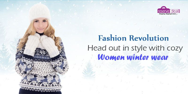 Fashion Revolution head out in style with cozy #womenwinterwear #reservedeal