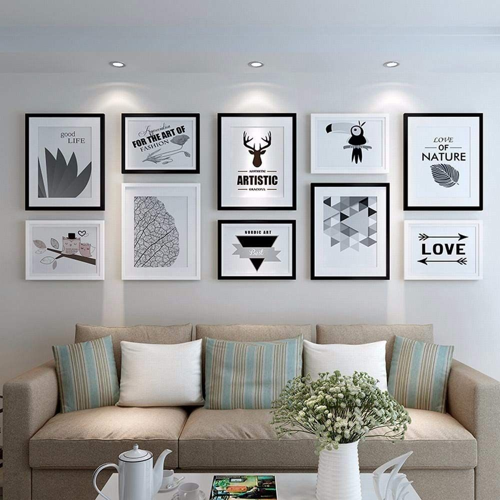 Wtt The Nordic Photo Wall Frame Wall Modern Minimalist Living Room Decor Photo F Picture Wall Living Room Living Room Decor Photos Minimalist Living Room Decor